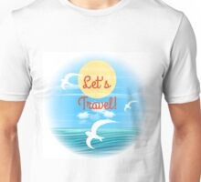 Travel theme Unisex T-Shirt