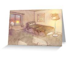 Hamster World Greeting Card