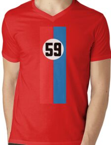 911 Racing Livery Mens V-Neck T-Shirt