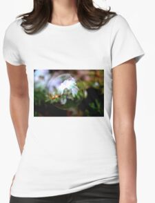 One Bubble, One Photographer Womens Fitted T-Shirt