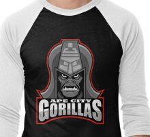 APE CITY GORILLAS Men's Baseball ¾ T-Shirt