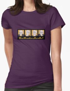 What Would Larry David Do? Womens Fitted T-Shirt
