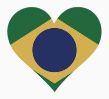 A Heart for Brazil by artpolitic