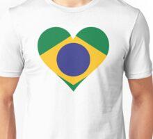 A Heart for Brazil Unisex T-Shirt