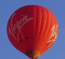 Virgin Balloon  Sticker