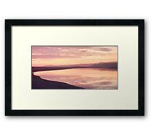 Milnthorpe Sands Framed Print