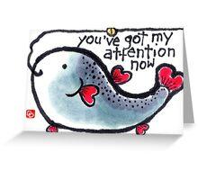 Heart Fish (v.2) Greeting Card