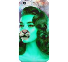 Psychedelic Tiger Pin Up iPhone Case/Skin