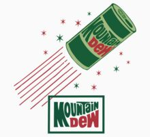 MOUNTAIN DEW 4 Kids Tee