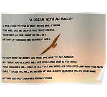 A Dream With An Eagle Poster