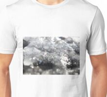 Job 37:10  The breath of God produces ice, and the broad waters become frozen. Unisex T-Shirt