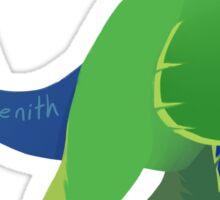 Dino Birds - Fischer's Lovebird Sticker