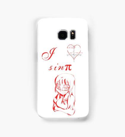I love Sin π Samsung Galaxy Case/Skin
