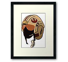 Rebel Pilot Framed Print