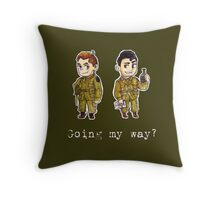 Going My Way? Throw Pillow