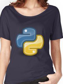 Python logo Women's Relaxed Fit T-Shirt
