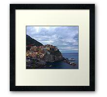 Manarola - Cinque Terre Framed Print