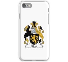 King Family Crest iPhone Case/Skin