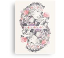 Queen of Roses Metal Print