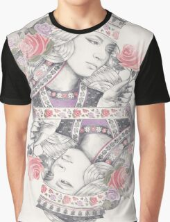 Queen of Roses Graphic T-Shirt