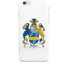 Baker Family Crest iPhone Case/Skin