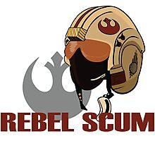 Rebel Scum Photographic Print