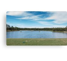 The Driving Range in Florida Canvas Print