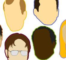 The Office Heads - Sticker Sticker