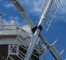 The windmill at Cley Sticker