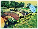 """Uncle Zeek's Preowned Auto Lot""... prints and products by © Bob Hall"