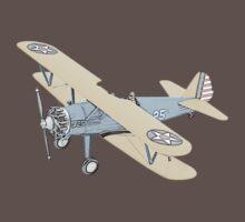 Stearman PT-17 Bi-Plane One Piece - Short Sleeve