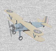 Stearman PT-17 Bi-Plane Kids Tee