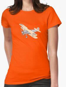 Stearman PT-17 Bi-Plane Womens Fitted T-Shirt