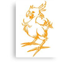 The Chocobo Canvas Print