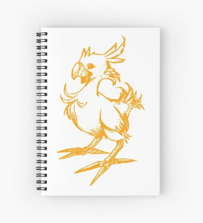 The Chocobo Spiral Notebook