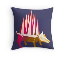 Popsicle Dog Throw Pillow