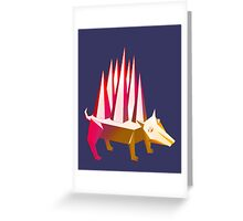 Popsicle Dog Greeting Card