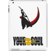 Your Soul is Mine iPad Case/Skin