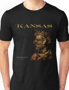 Kansas Band Concert Tour Album Masque Unisex T-Shirt