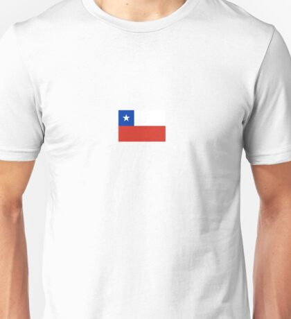 National flag of Chile Unisex T-Shirt