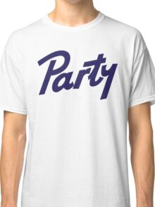 pabst party Classic T-Shirt
