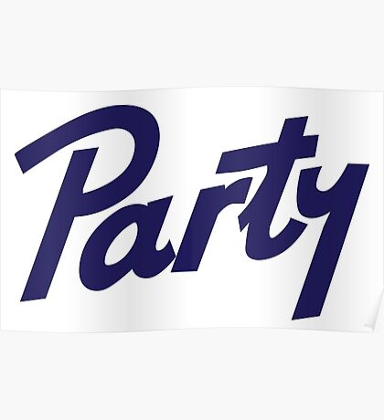 pabst party Poster