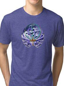 Fallout Brotherhood of Steel logo redrawn Tri-blend T-Shirt