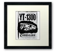 Vintage YT-1300 Framed Print
