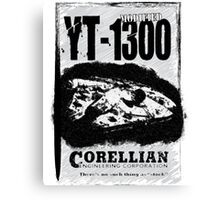 Vintage YT-1300 Canvas Print