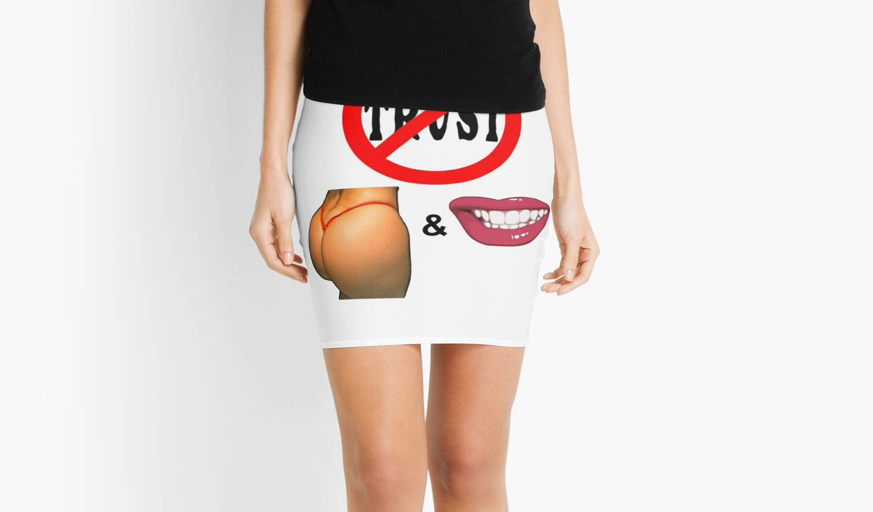 "Big Butt and a Smile"" Mini Skirts by BlueEyedDevil 