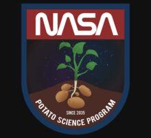 The Martian - Potato Science Program - Black Clean by garudoh