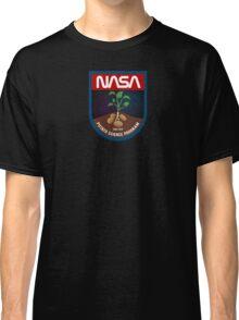 The Martian - Potato Science Program - Black Clean Classic T-Shirt