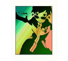 Persona 4 Chie Art Print