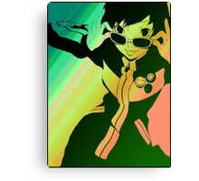 Persona 4 Chie Canvas Print